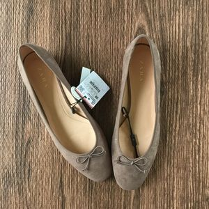 Zara low heel ballerinas sz 8